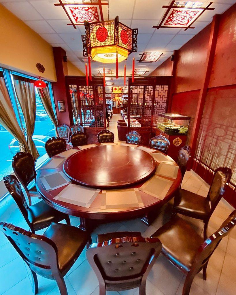 Kinų smuklės banketinė salė